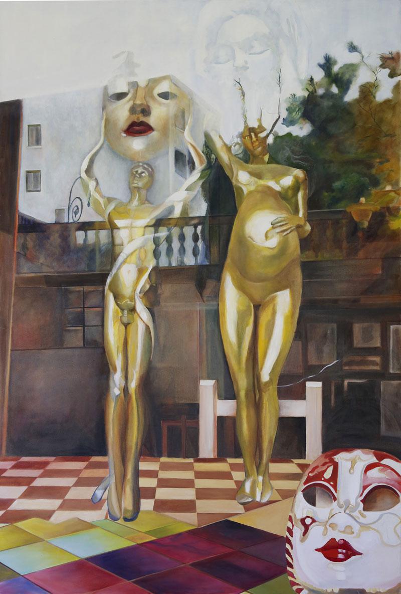 Dreams, 2013, oil on canvas, 150x100