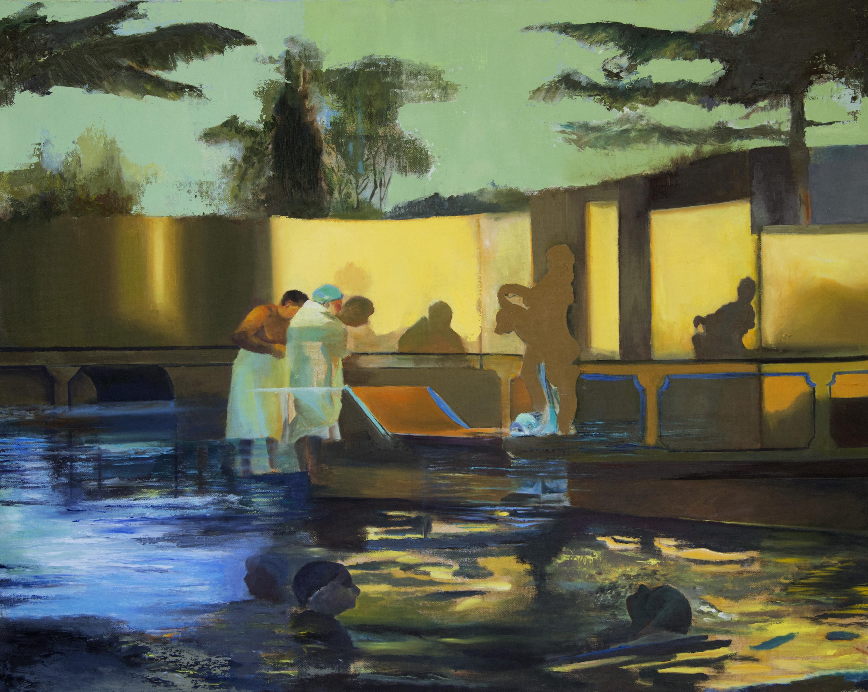 Shadows,2016, Oil on canvas, 70X90