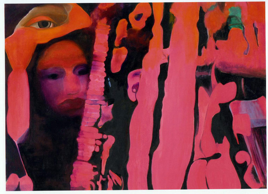 Enigma in Pink, 2008, oil on canvas, 45x60