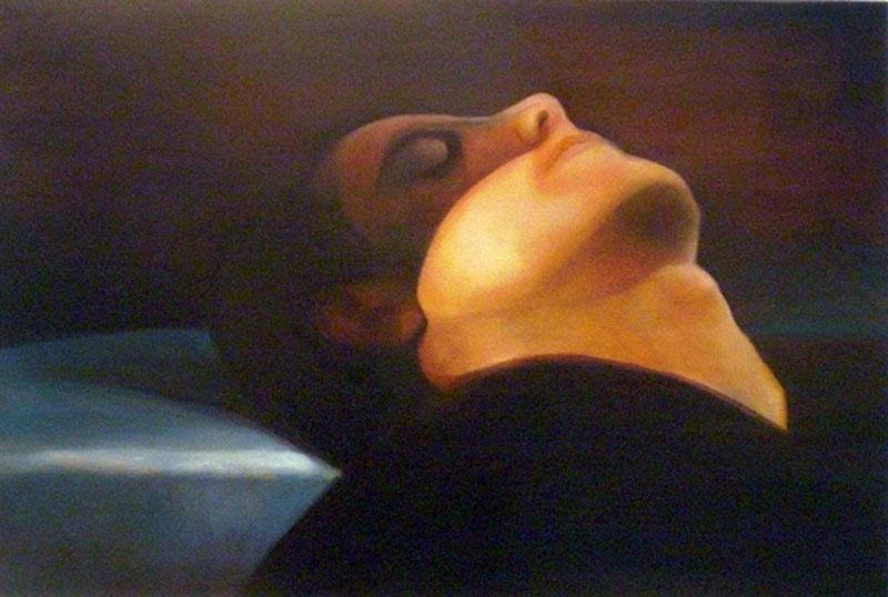 Nap,2007,oil on canvas, 60x40
