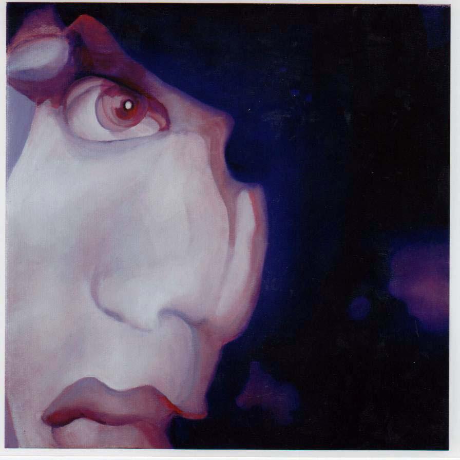 Fear, 2009,oil on canvas, 25x25