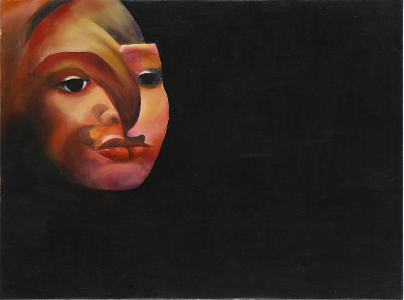 Figure, 2008, oil on canvas, 45x60