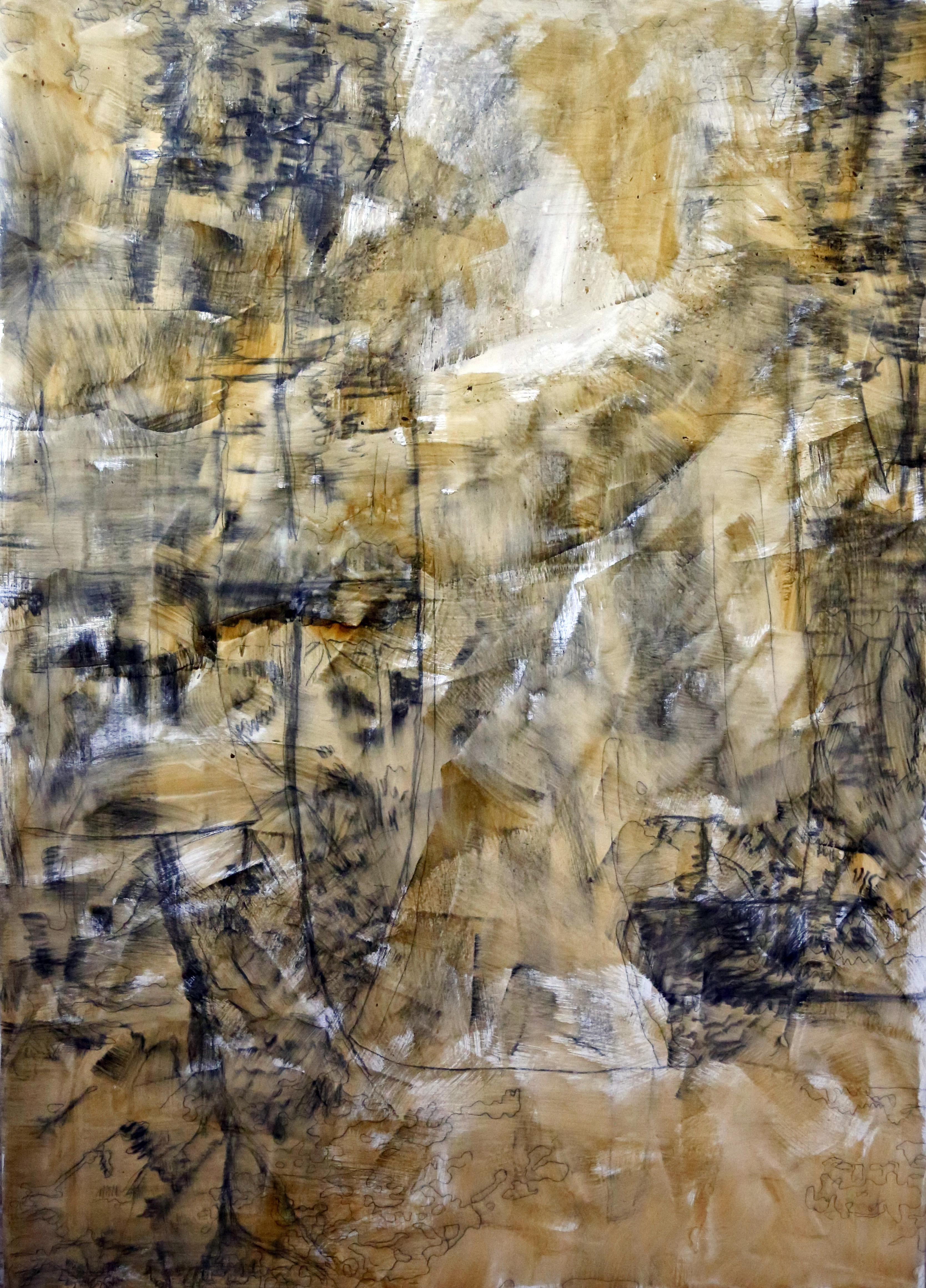 Landscape,2017,oil on canvas, 130X90