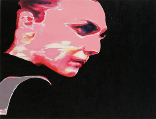 Figure-in-profile2008oil-on-canvas-45x60