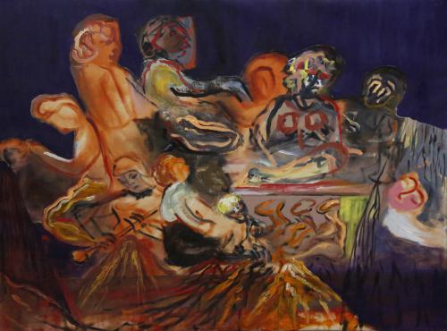 Meditation-2017-oil-on-canvas-60X80