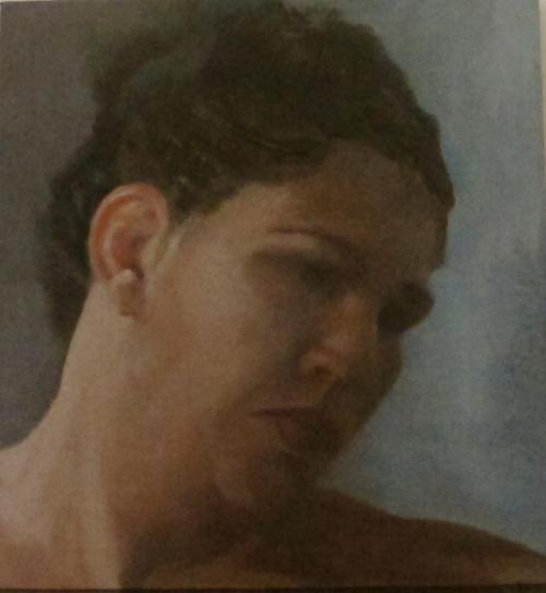 Sad-look--2013-oil-on-canvas-mounted-on-wood-28x26