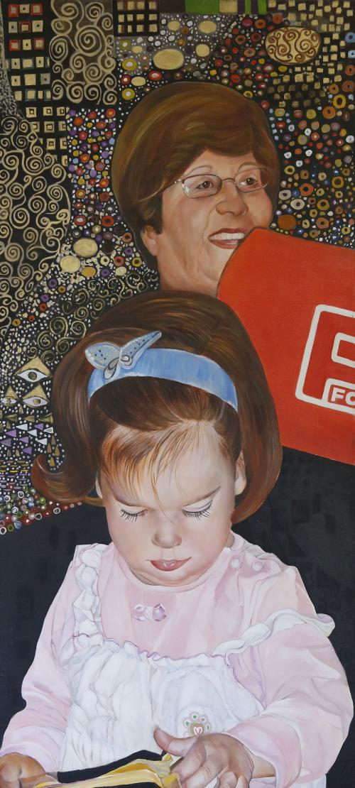 Mother-2009-oil-on-canvas-110x50