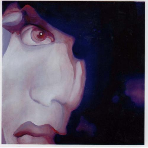 Fear-2009oil-on-canvas-25x25
